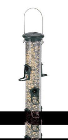 Audubon Wild Bird 2 lb. Plastic Tube Seed Feeder 6