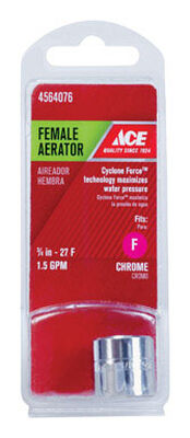 Danco Female Aerator 3/4 in. - 27 F in. Chrome Silver