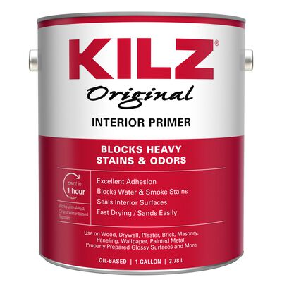 Kilz Original Oil-Based Interior Primer 1 gal. White