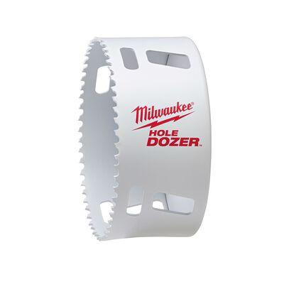 Milwaukee Hole Dozer 4-1/8 in. Dia. x 1/4 in. Dia. Bi-Metal Hole Saw