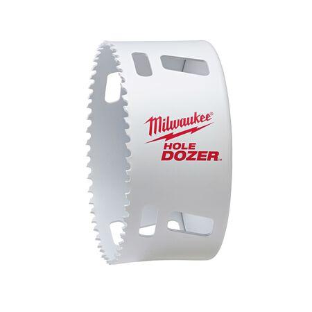 Milwaukee Hole Dozer 4-1/2 in. Dia. x 1/4 in. Dia. Hole Saw Bi-Metal