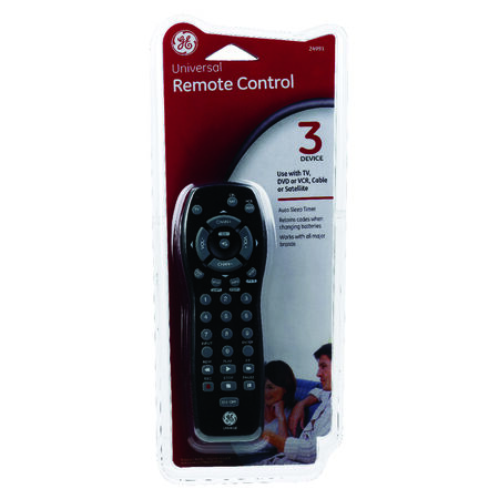 GE Universal Remote Control 3 Devices