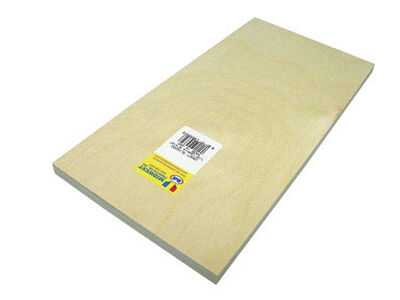 Midwest Products 1/2 in. x 0.5 in. W x 1 in. L Plywood Plywood