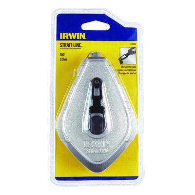 Irwin Fast Retrieve Chalk Line Reel 50 ft. L