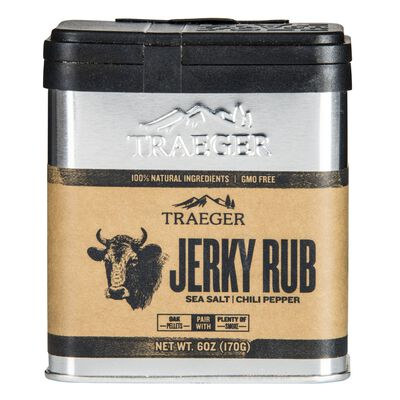 Traeger Sea Salt and Chili Pepper Jerky Rub 8.25 oz.