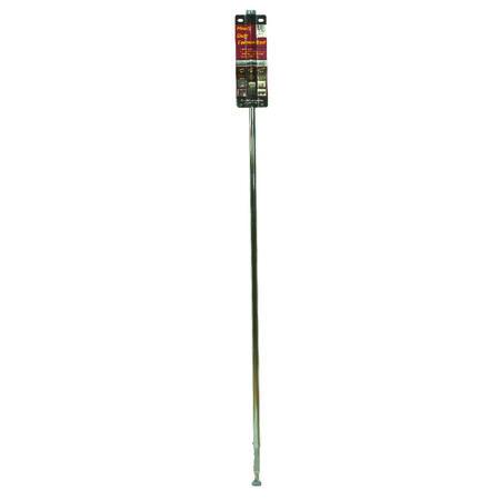 John Sterling 57.5 in. Dia. x 58 in. L x 83 in. L Chrome Extension Hanger Rod