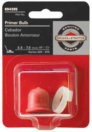 Briggs & Stratton Primer Bulb For 625-875 Series 3.5-7 HP Engines