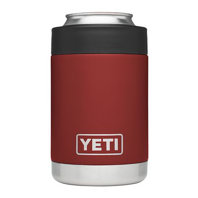 YETI Rambler Colster Stainless Steel Brick Red Beverage Holder 1 pk