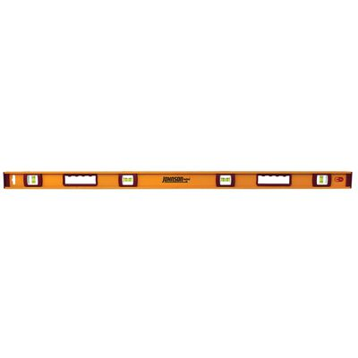 Johnson Aluminum I-Beam Level 48 in. L