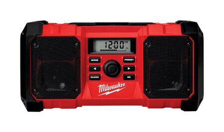 Milwaukee M18 Wireless Jobsite Radio Bluetooth Red