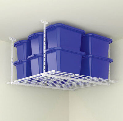 Hyloft 28 in. H x 45 in. L x 45 in. W Steel Steel Ceiling Storage Unit