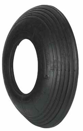 Arnold Wheelbarrow Tire 6 in. Dia. 500 lb. Butyl Rubber