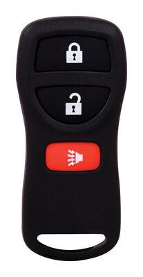 DURACELL Renewal Kit Automotive Replacement Key Nissan/Infiniti 3-Button Case & Button Pad Doub