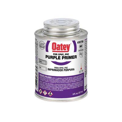 Oatey Purple PVC/CPVC Primer 8 oz.
