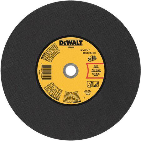 "14"" x 1/8"" x 1"" Metal Portable Saw Cut-Off Wheel"