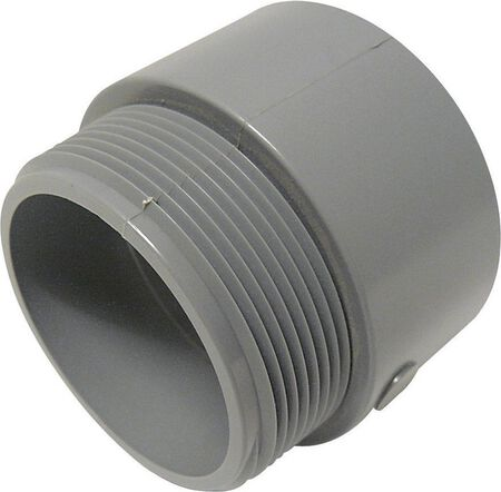 Cantex 2-1/2 in. Dia. PVC Male Adapter