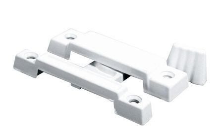 Prime-Line Painted White Sash Lock Die-Cast Zinc 1