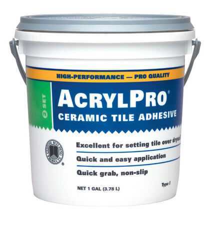 Custom Building Products AcrylPro Ceramic Tile Adhesive 1 gal.