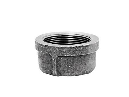 B & K 1/2 in. Dia. FPT Galvanized Malleable Iron Cap