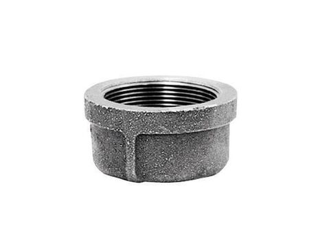 B & K 1 in. Dia. FPT Galvanized Malleable Iron Cap