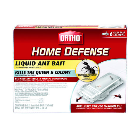 Ortho Home Defense Liquid Ant Bait Station 6 pk