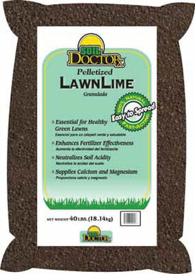 Soil Doctor Pellets Lime Organic 1000 sq. ft. 40 lb.