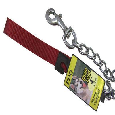 PDQ Nylon/Steel Dog Leash 4 mm W x 4 ft. L