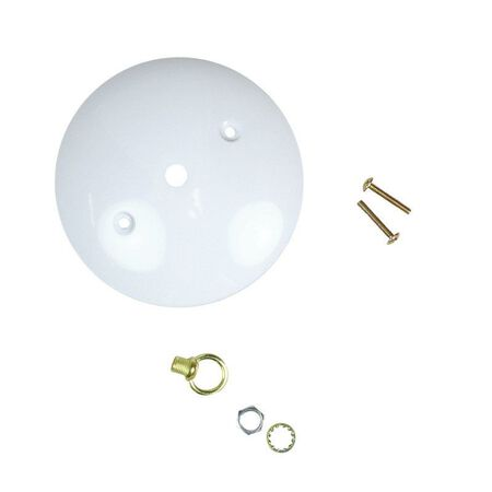 Jandorf Canopy Kit White 5 in. L 1 pk