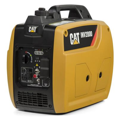Cat INV2000 Quiet 2250-Watt Synchronous AC Gasoline Portable Generator