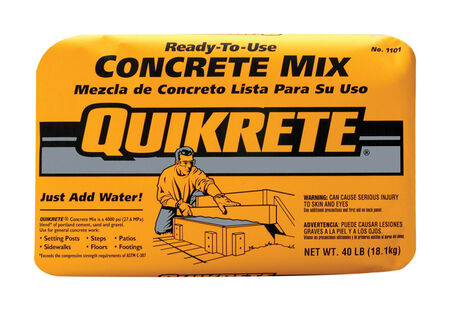 Quikrete 40 lb. Ready-to-Use Concrete Mix