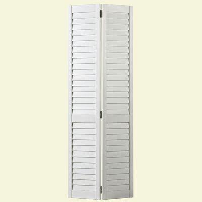 Full Louver Interior Closet Bi-fold Door - 32 in x 80 in