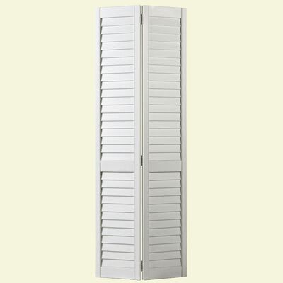 Full Louver Interior Closet Bi-fold Door - 36 in x 80 in