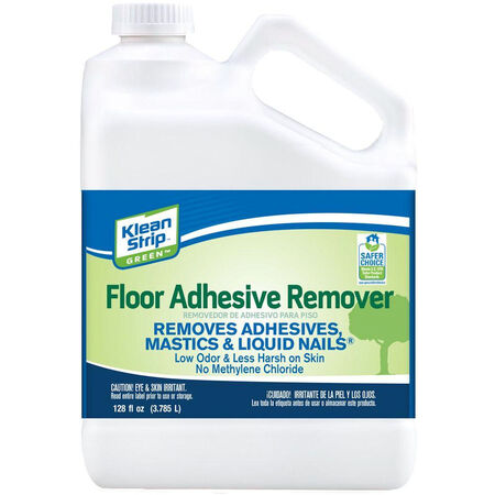 Klean Strip Green Odorless Liquid Floor Adhesive Remover 1 gal.