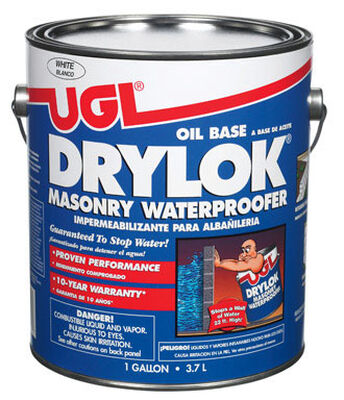 Drylok Masonry Waterproofer White 1 gal.