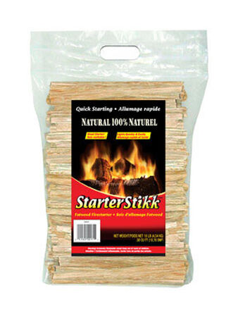Jarden Firelog Starter Stikk Wood Fire Starter 10 lb.