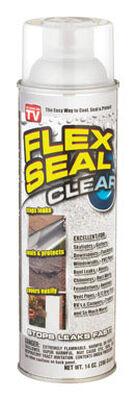 Flex Seal Rubber Spray Sealant 14 oz. Clear Spray Can