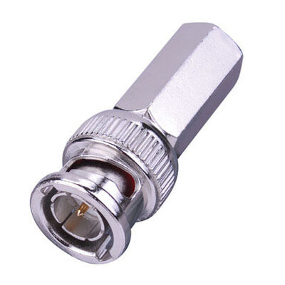 Just Hook It Up RG6 Twist-On Coaxial Connectors 75 2 pk