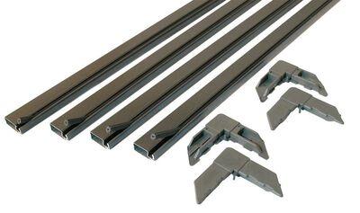 Prime-Line Up to 48 x 48 Frame Screen Frame Kit 3/4 in. W x 3/4 in. L Bronze Aluminum