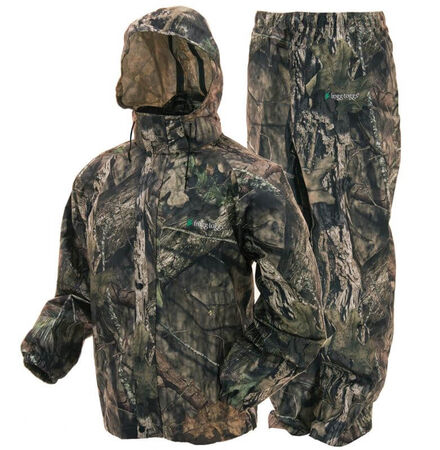 Frogg Toggs Rain Suit Mossy Oak Country Camo Size Large