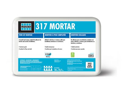 Mortar Thinset Floor/Wall Gray 317WGG