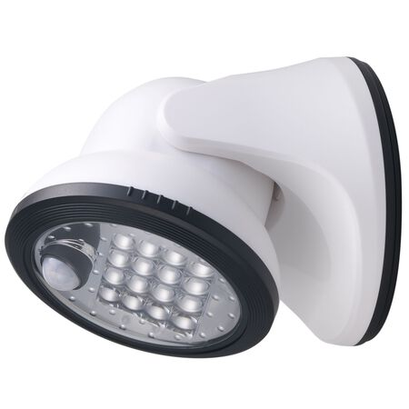 Light It! Motion Activated Outdoor Wall Light White