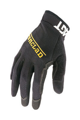 Ironclad Black Men's 2X-Large Synthetic Leather Work Gloves