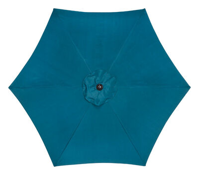 Living Accents Umbrella 92 ft. Ocean Blue 1 each
