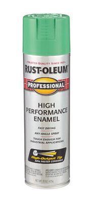 Rust-Oleum Professional Safety Green Gloss Enamel Spray 15 oz.
