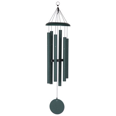 "Corinthian Bells, 36"" Green Windchime"