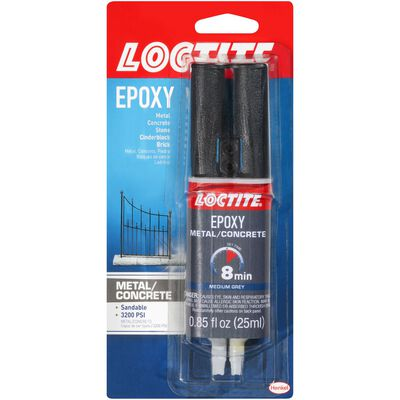 Loctite Metal/Concrete Epoxy 0.85 oz.