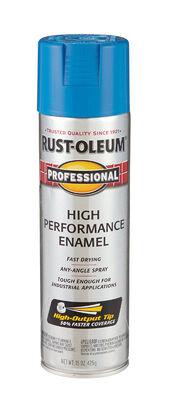 Rust-Oleum Professional Safety Blue Enamel Spray 15 oz.