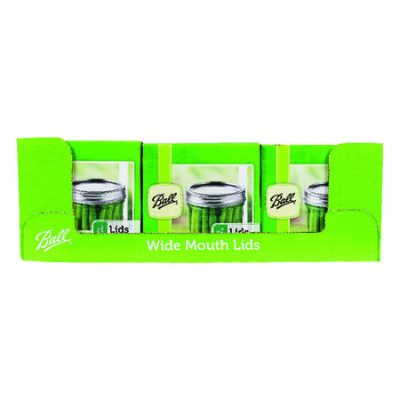 Ball Wide Mouth Dome Canning Lid 12 pk