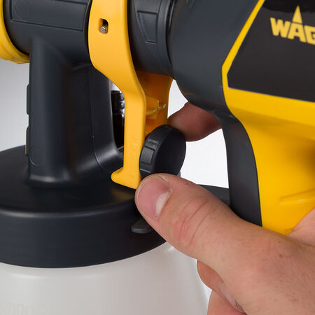 Wagner Control Spray 250 3 psi Plastic HVLP Paint Sprayer