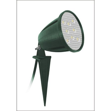 Ace Plug In LED Spike Light Green 5.5 1 pk